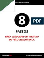 8 Passos Para Elaborar Um Projeto de Pesquisa Jurídica_Completo