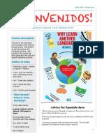 spanish 2 syllabus 2016-2017