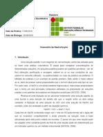 Modelo de Relatório Volumetria de Neutralização