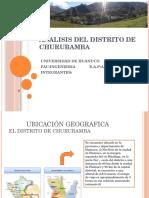 Analisis Del Distrito de Churubamba.1.1