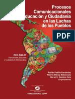 Procesos Comunicacionales Educación y Ciudadanía en Las Luchas de Los Pueblos-Enero2016