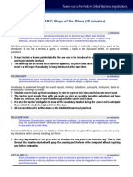 Metodologia - Pasos de La Clase 2014