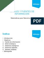 Tema 01 Señales y Fuentes de Informacion