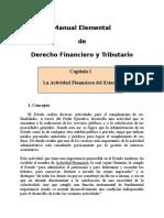 Derecho Financiero y Tributario