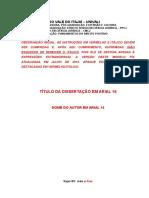 Modelo Dissertação Ppcj 2015