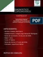 Diagnostico psicopedagógico