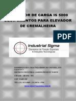 Limitador de Carga is 5000 Equipamentos Para Elevador de Cremalheira