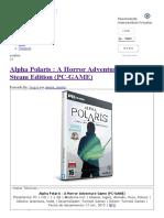 Alpha Polaris _ a Horror Adventure Game Steam Edition (PC-GAME) - IntercambiosVirtuales