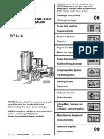 KALMAR DCE-160 F40200159 G-95 G-96 G-97