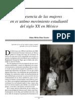 Mujeres en El Último movimiento estudiantil mexicano