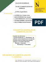 Logística de La Comercialización de Minerales y Metales - Grupo 1