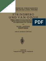 Strindberg Und Van Gogh_ Versuch Einer Pathographischen Analyse Unter Vergleichender Heranziehung Von Swedenborg Und Hölderlin
