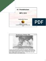 29540157 Handout Geologi Dasar 2009