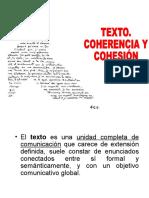Cohesión y Coherencia Textual