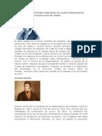 Biografías de Los Personajes Importantes de Nuestra Independencia Grado Cuarto