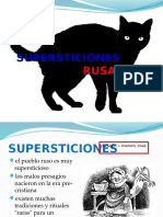 SUPERSTICIONES RUSAS