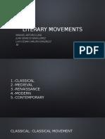 Literary Movements