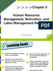 Labor Management Relation