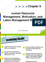 Labor Management Relation