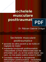 Sechelele musculare posttraumatice