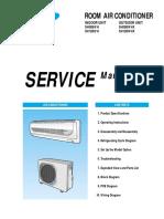 SH 09 12 BWH Service Manual