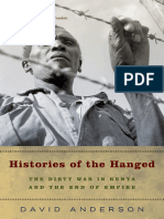 Histories of the Hanged The Dirty War in Kenya and the End of Empire .epub