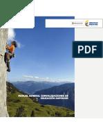 Manual General Convalidaciones de Educación Superior