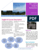 luthin humanities course outline 2016 2017