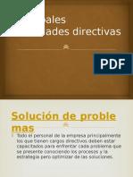 Principales Habilidades Directivas
