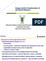 NHR AgriResearchTransformation