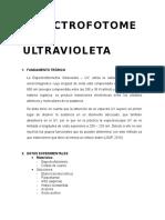 Espectrofotometria ultravioleta