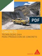 ssA5 Tecnología Sika Para La Producción de Concreto