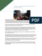 Tragedi Runtuhnya Jembatan Penghubung Di TIM Dan Pasal
