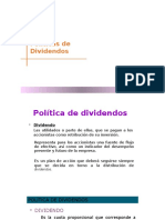 Politicas de Dividendos