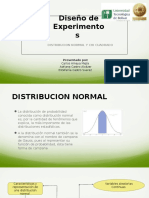 exposicion deseño de experimentos y chi cuadrado