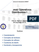 Distributed OS 1 ES