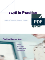 Total Quality Management - QPSP