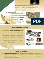 Ensayos en Los Materiales de Construcción