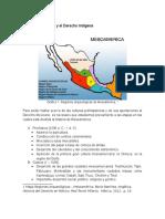 Culturas de México y El Derecho Indígena
