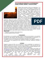 LA LABOR SOCIAL DE LA IGLESIA EN ATENCIÓN A LOS PROBLEMAS SOCIALES 5°