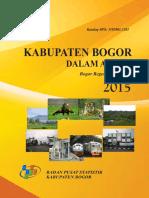 Kabupaten Bogor Dalam Angka 2015