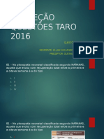 CORREÇÃO QUESTÕES TARO 2016.pptx
