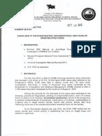 PNP Investigative Directive