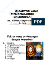 Faktor-faktor Yang Mempengaruhi Komunikasi