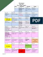esl geometry calendar 16-17