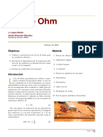 P1 Ley de Ohm