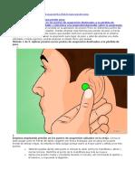 Acupuntura Reflexologí Diabetes Pérdidad de Peso
