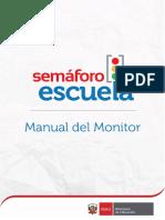 Semaforo Escuela Manual Del Monitor