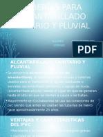Instalaciones Alcantarillado Sanitario y Pluvial