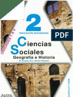 Ciencias Sociales 2º Eso Anaya